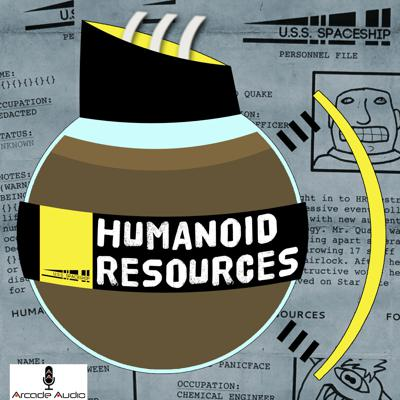 Humanoid Resources is an improvised podcast about the operations of the HR (Humanoid Resources) Department aboard the fictional U.S.S. Spaceship, in the year 2667. A human from 2016, a tiny alien and a robot interview the ship's inhabitants and make funnies. Told through the lens of crazy professors, rogue government agents and sensible graduate assistants finding tapes in the present day, this podcast is worth every penny. Because it's free.