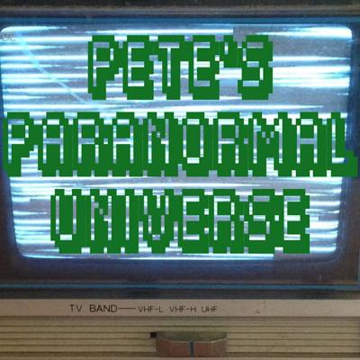 Stranded in the distant world of tomorrow, Pete Schwartz struggles on, exploring the convoluted secrets of…PETE'S PARANORMAL UNIVERSE - where the paranormal is normal