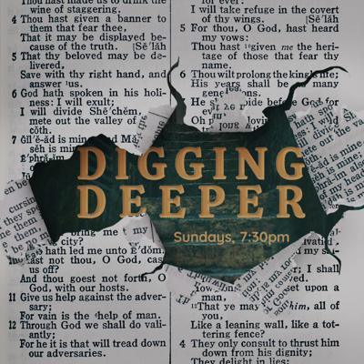 Cover art for Digging Deeper with Steve McAlpine