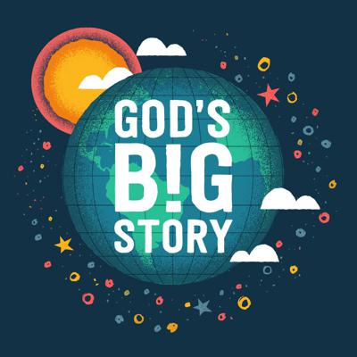 God's Big Story is a new podcast for kids. On each episode, we'll teach the Bible, sing the Bible, and talk about what it means with some friends.