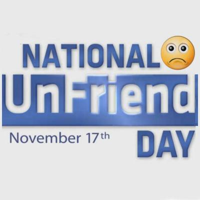 Cover art for National Unfriend Day 2019