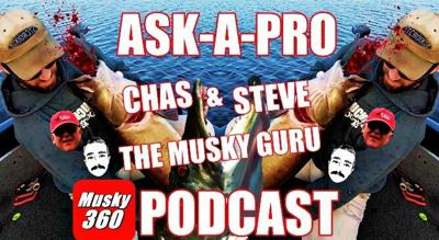 Cover art for 33: Ask-A-Pro Chas,Steve & The Musky Guru