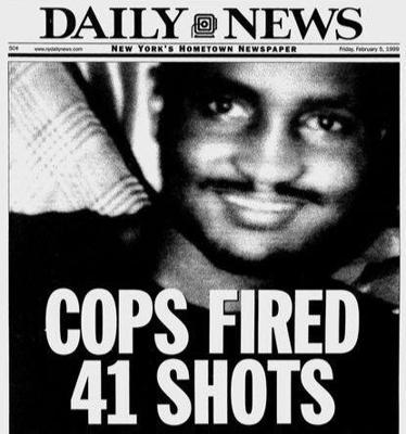Cover art for 142: 41 Shots: The Killing of Amadou Diallo (Trial By Media Episode 3)