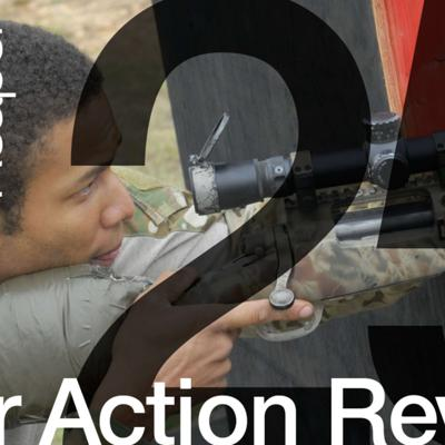 Cover art for The After Action Review Episode 25: Army Ranger and Sniper Nick