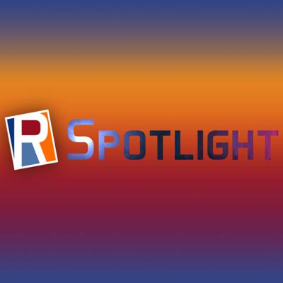 Cover art for R-Spotlight • Counterpoint and Fagan Studios