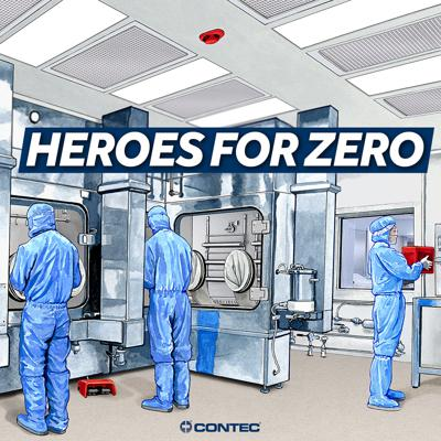 Contamination has no borders - wherever there are people, there will be dirt. Every day thousands of people take up the call to become Heroes for Zero: Zero Contamination in critical manufacturing environments, Zero Infections in pharmacy and healthcare environments, and Zero Defects in automotive/aerospace surface prep environments.   This podcast, presented by Contec, will bring you stories of these Heroes for Zero.