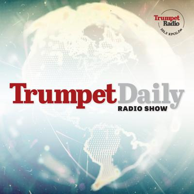 The Trumpet Daily Radio Show proves the Bible's relevancy to your life. Trumpet executive editor Stephen Flurry hosts a show covering wide-ranging topics with an emphasis on world news. Trumpet Daily Radio Show records from Trumpet Daily facilities at Edstone in the United Kingdom. The program is available on-demand at the Trumpet Dailywebsite or the Trumpet Daily channel on YouTube. The program airs every morning at 7 a.m. (Central Time) on KPCG 101.3 FM in Edmond, Oklahoma.