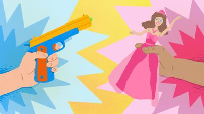 Cover art for The Problem With Toy Guns And Princesses