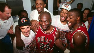 Cover art for Michael Jordan Documentary The Last Dance And What's Making Us Happy