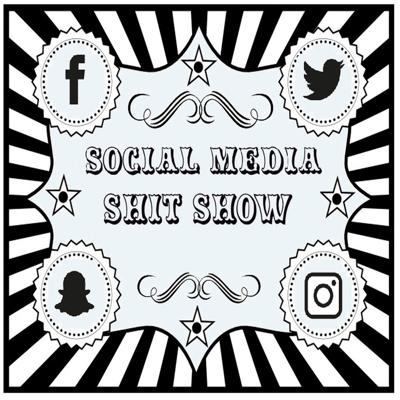 Cover art for **Social Media Shit Show** Patreon Member Episode 1 Free for All.