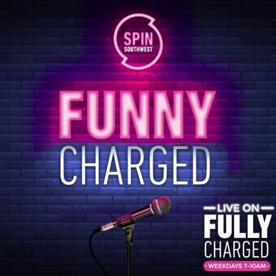Cover art for Funny Charged with Karl Spain