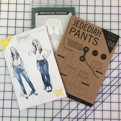 Cover art for Garment Sewing Skills Pattern Information