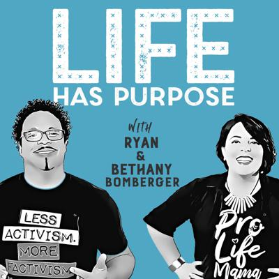 Life Has Purpose is not only the name of our brand-new podcast, but it's been the DNA of our nonprofit organization--The Radiance Foundation--since we created it ten years ago. We want to bring context and clarity to culture-shifting issues. We're not afraid to talk about the tough stuff, and we're passionate about highlighting the stories that speak hope and healing. And…we love to laugh. Get ready for a life-affirming journey with Bethany and Ryan Bomberger with each weekly episode of Life Has Purpose! Learn more at www.LifeHasPurpose.com.