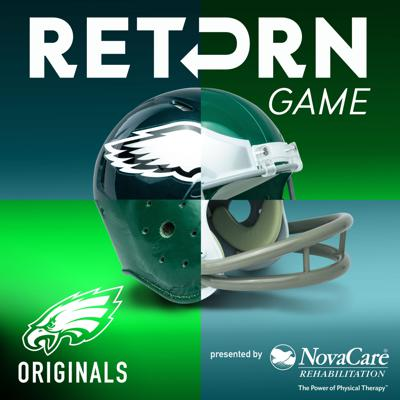 Return Game runs it back like never before. This Official Eagles Podcast takes you deep inside the most iconic moments in Philadelphia Eagles history, bringing you first-hand accounts of unbelievable games, unforgettable plays, unrelenting rivalries, and undeniable characters. Each season of Return Game features a never-heard-before take on a different time, team, personality, or moment in Eagles lore. Buckle up— this is team history straight from the people who lived it.