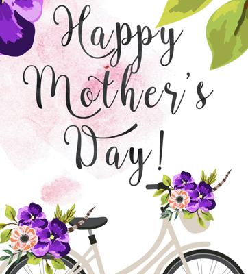 Cover art for Happy Mother's Day!