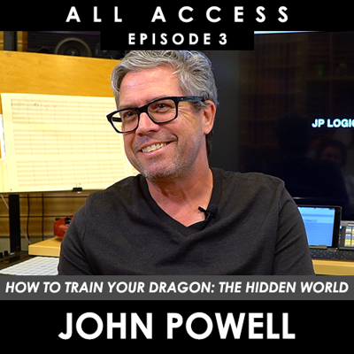 Cover art for John Powell (Composer: How To Train Your Dragon 3)