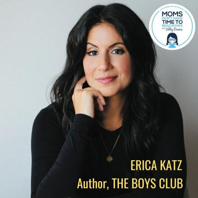 Cover art for Erica Katz, THE BOYS' CLUB