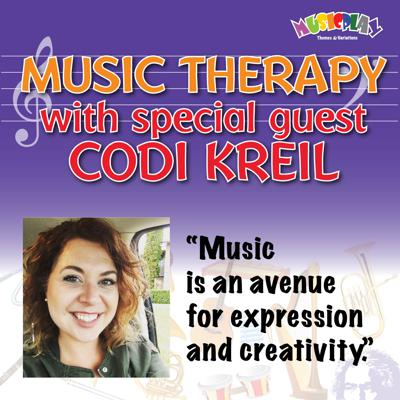 Cover art for Music Therapy with Codi Kreil