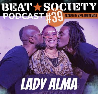 Cover art for Lady Alma - BEAT*SOCIETY Podcast Episode 39