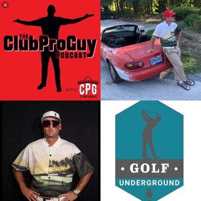 Cover art for CPG visits local ESPN Radio Show - The Golf Underground