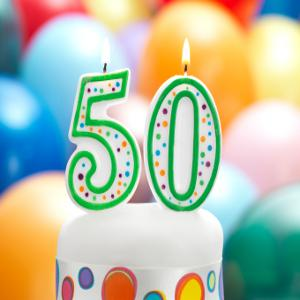 Cover art for Episode 50: Our 50th Episode Celebration: