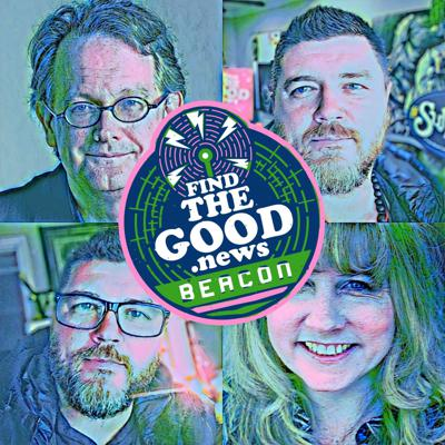Cover art for Ep. 86 - The Divine Feminine - Beacon Series Ft. Clark Strand & Perdita Finn - Find the Good News with Brother Oran