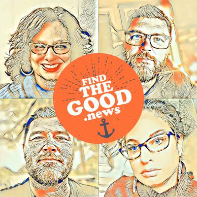 Cover art for Ep. 87 - The Slippage Ft. Heather Regan White - Find the Good News with Brother Oran