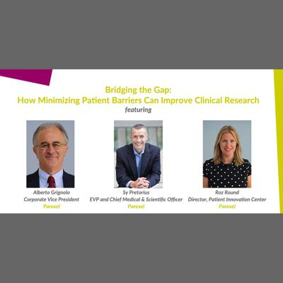 Cover art for Episode 3: Bridging the Gap – How Minimizing Patient Barriers Can Improve Clinical Research