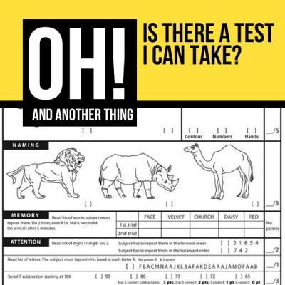 Cover art for Is There a Test I Can Take?