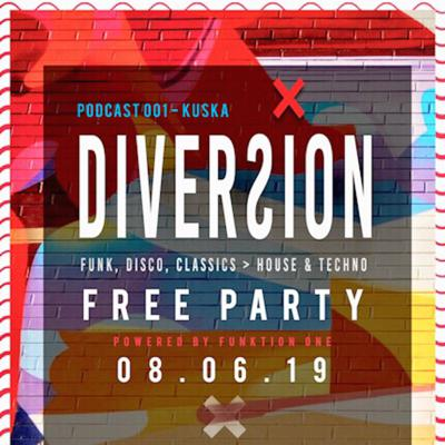 Cover art for Diversion Garden Party House Mix by KusKa | PC001 | JN19 |