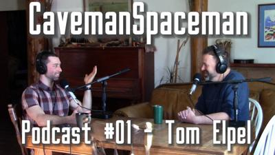 Cover art for CavemanSpaceman Podcast #01 - Tom Elpel