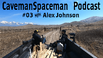 Cover art for Life as a homeless traveler - Podcast #03 with Alex Johnson