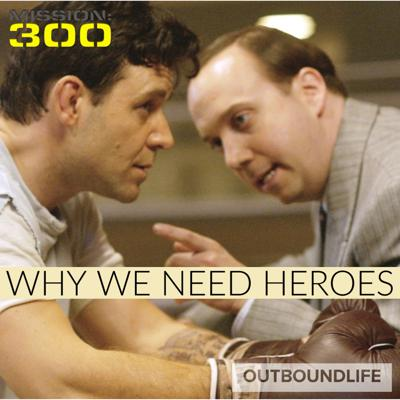 Cover art for Episode 34 - Why We Need Heroes - Discussion