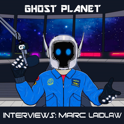 Cover art for GHOST 🌒 PLΛNET Interviews: Marc Laidlaw