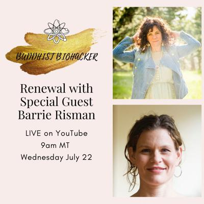 Cover art for Renewal with Special Guest Barrie Risman
