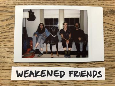 Cover art for Episode 9.  Weakened Friends - Live Session, Interview, and Tone Zone