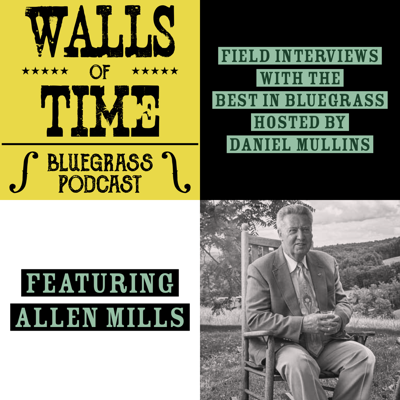 Cover art for BONUS. Allen Mills: Love of the Mountains [Recorded Live at IBMA's World of Bluegrass in Raleigh, NC]