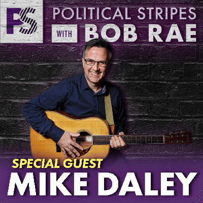 Cover art for Oscar Peterson Tribute with Mike Daley - Political Stripes with Bob Rae Episode 32