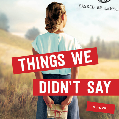 Cover art for INTERVIEW - Amy Lynn Green, author of Things We Didn't Say