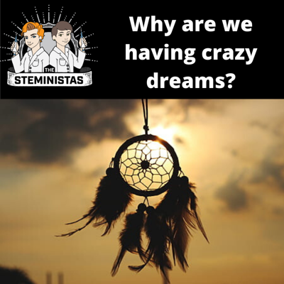 Cover art for Why are we having crazy dreams?