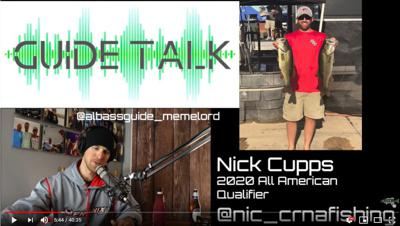 Cover art for How we started a College Fishing Team - Guide Talk feat. Nick Cupps