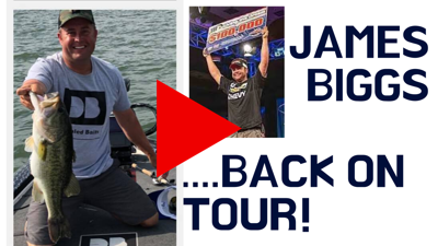 Cover art for TBF Champion James Biggs INVITED to FLW Pro Circuit