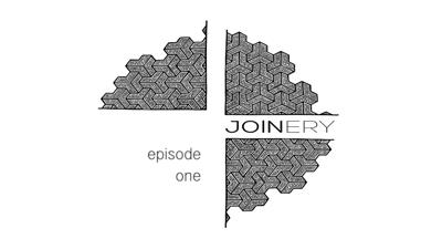 Cover art for JOINERY One