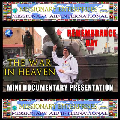Cover art for EP77 Remembrance Day - The War in Heaven (Oshawa, Ontario, Canada)