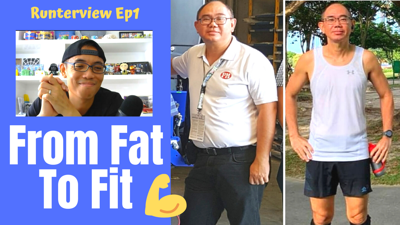 Cover art for Runterview Ep1 - From Fat To Fit | Terence Goh