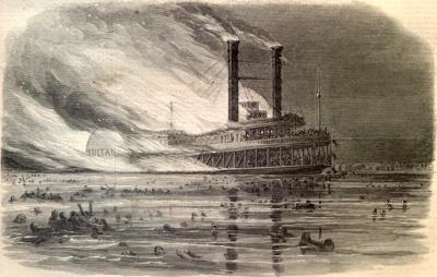 Cover art for 1.16: The Forgotten Disaster - How America's Worst Maritime Nightmare Happened In 1865 And Who It Happened To
