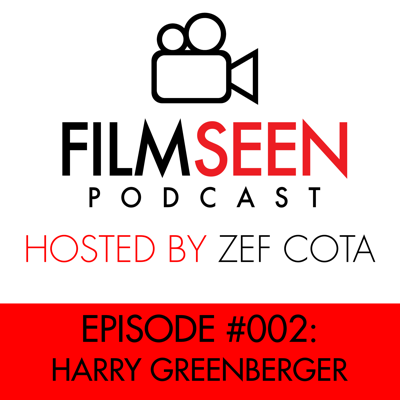 Cover art for #002 - Harry Greenberger