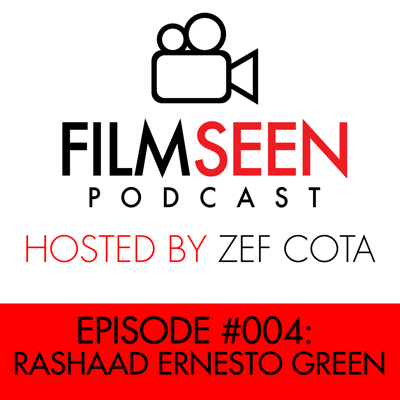 Cover art for #004 - Rashaad Ernesto Green