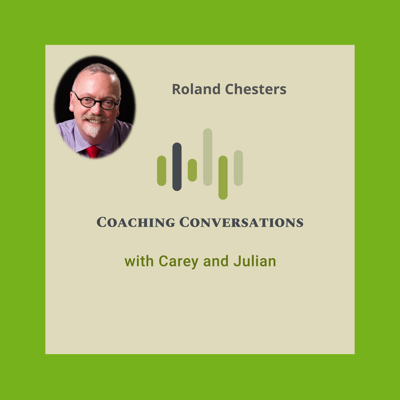 Cover art for Episode 28: Interview with Roland Chesters, who is a recognised disability and inclusion expert; coach, consultant, workshop leader and motivational speaker.