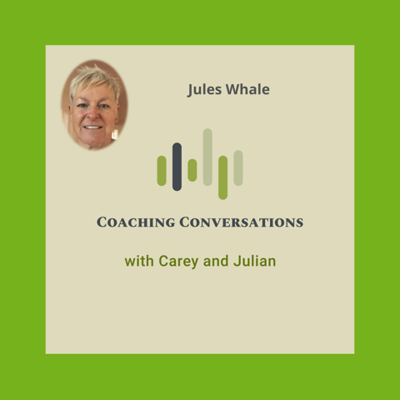 Cover art for Episode 31: Interview with Jules Whale, who is a Master NLP practitioner